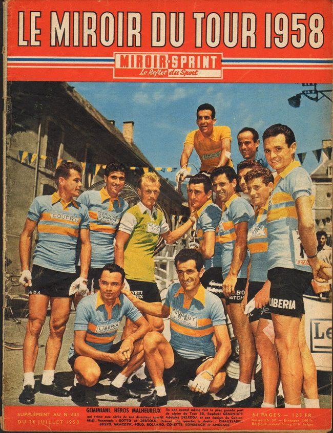 Les quipes du tour de france de 1947 2017 for Le miroir du cyclisme