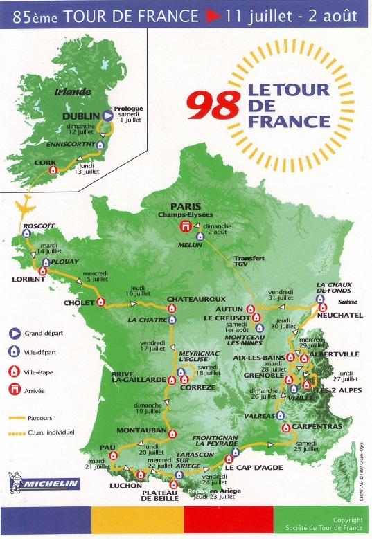 Tour De France Classement General