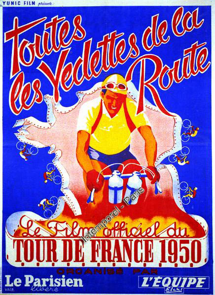les classements des tapes du tour de france 1950. Black Bedroom Furniture Sets. Home Design Ideas